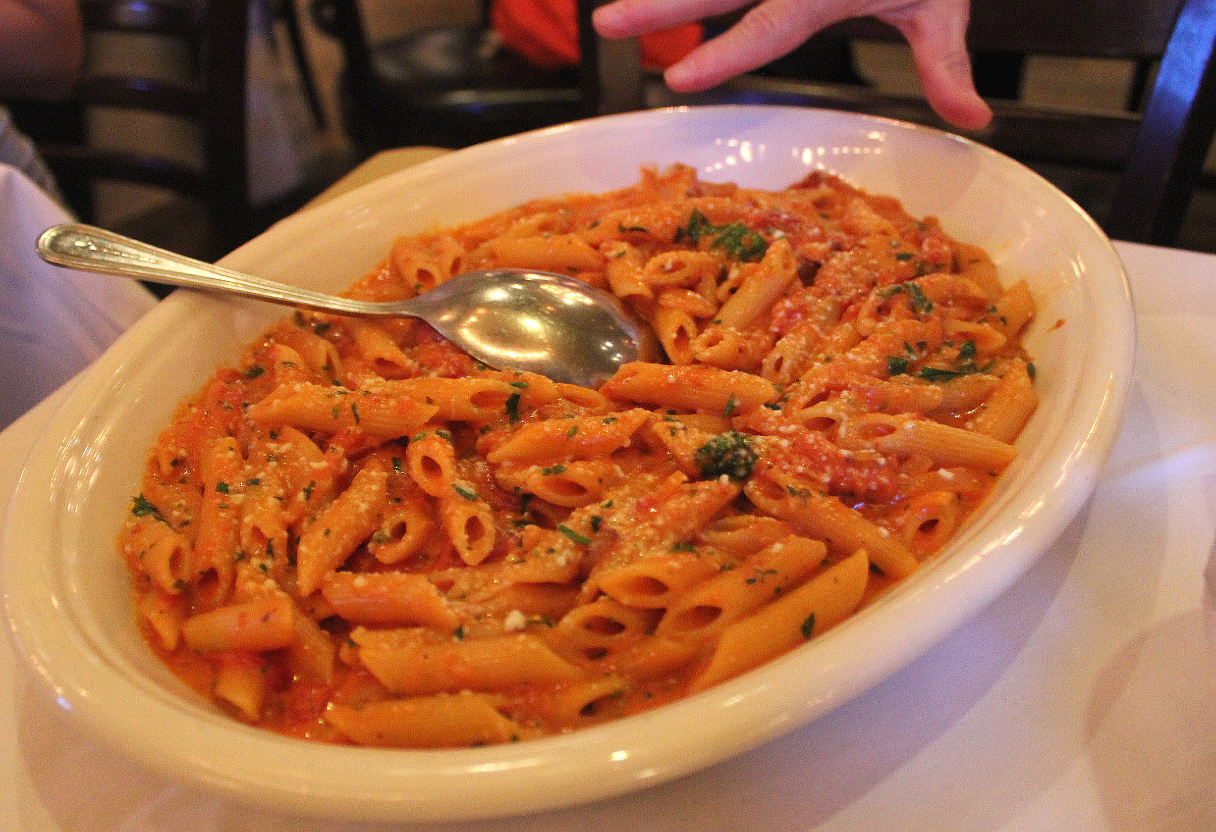 with Every Penne Alla Vodka Order! | New York Gossip Gal | by Roz