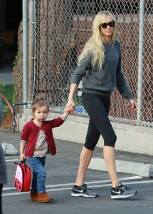 Kimberly Stewart school run