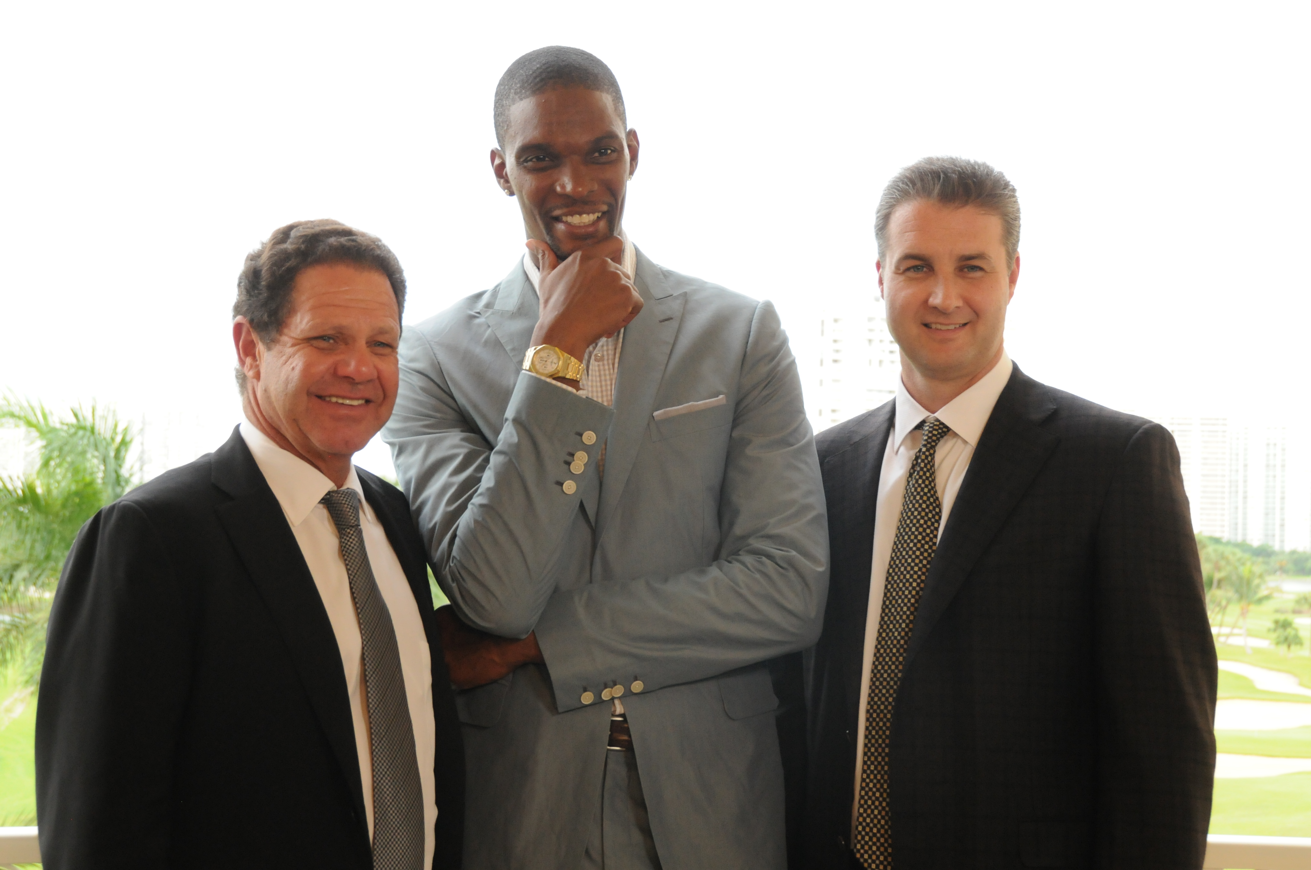 Chris Bosh Powers Forward With Warren Henry Auto Group