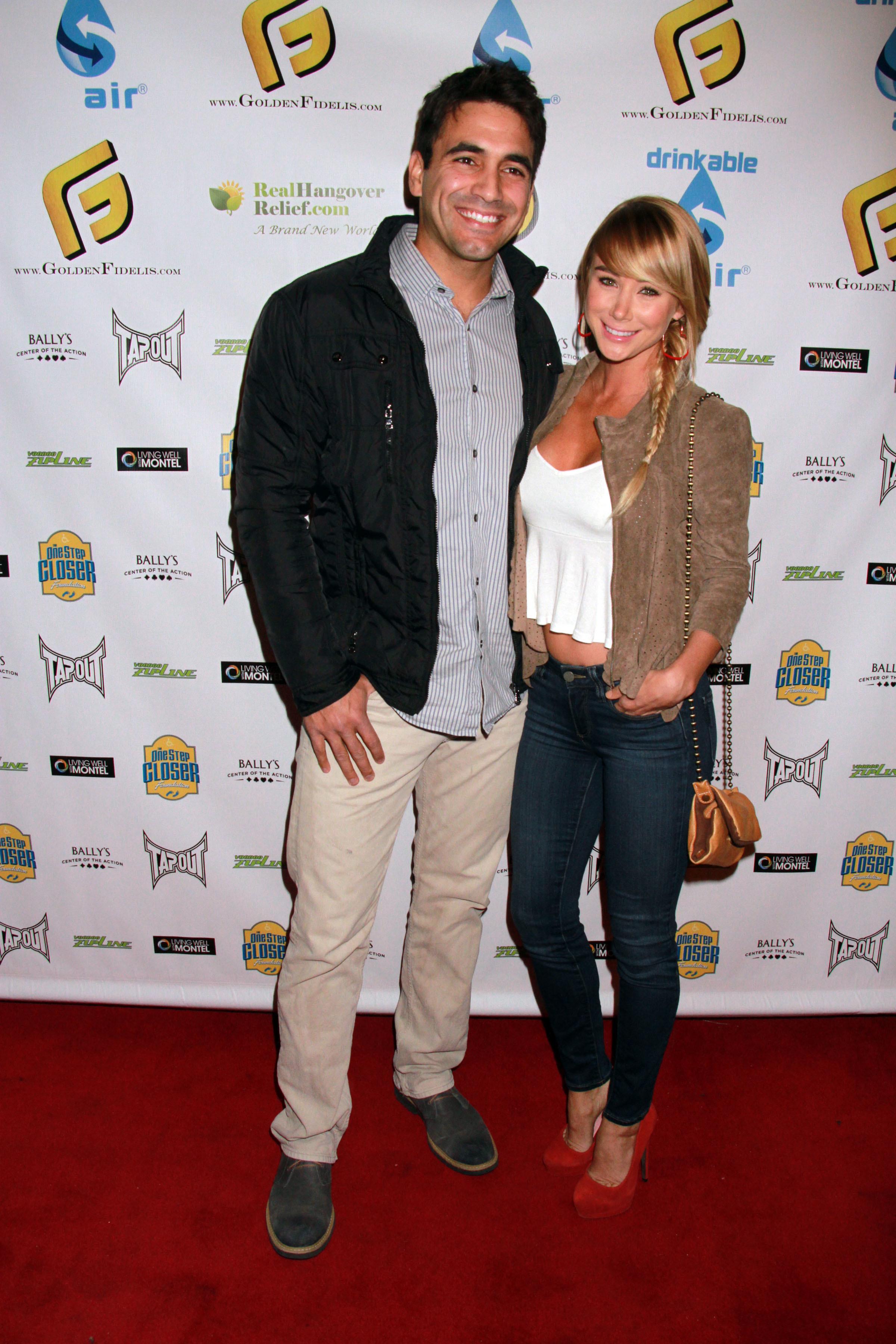 Sara Underwood and Roberto Martinez