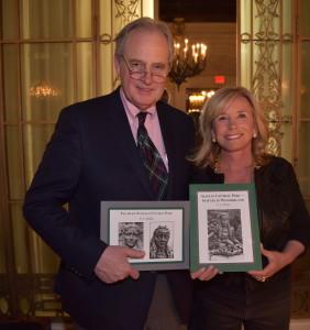 G.A. Mudge_Donald Tober, Barbara Tober_the lotos club_new york gossip gal_central park statues book_sharon bush