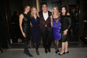 Dale Noelle, Leesa Rowland, Dr. Christopher Calapai, Cindy Guyer, Jane Scher_25A_Metropolitan Magazine Cover_ guyer's UWS_new york gossip gal