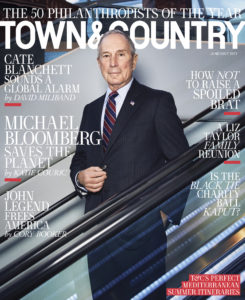 Town & Country June/July 2017_Michael Bloomberg_john legend_cate blanchett_new york gossip gal
