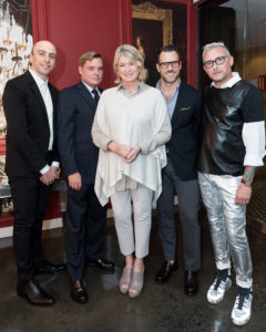 Dan Rubinstein, Stephen Sills, Martha Stewart, Shawn Henderson_Jim Shreve_new york decoration & design_new york gossip gal